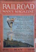 Railroad Man's Magazine (1906-1919 Frank A. Munsey) Pulp 1st Series Vol. 36 #1