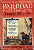 Railroad Man's Magazine (1906-1919 Frank A. Munsey) Pulp 1st Series Vol. 38 #3