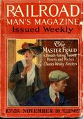 Railroad Man's Magazine (1906-1919 Frank A. Munsey) Pulp 1st Series Vol. 38 #4