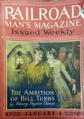Railroad Man's Magazine (1906-1919 Frank A. Munsey) Pulp 1st Series Vol. 40 #1