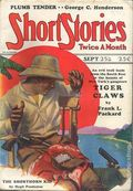 Short Stories (1890-1959 Doubleday) Pulp Sep 25 1928