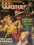 Six-Gun Western (1946-1950 Trojan Publishing) Pulp Vol. 2 #6