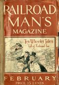 Railroad Man's Magazine (1906-1919 Frank A. Munsey) Pulp 1st Series Vol. 20 #1