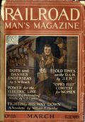 Railroad Man's Magazine (1906-1919 Frank A. Munsey) Pulp 1st Series Vol. 35 #3