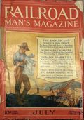 Railroad Man's Magazine (1906-1919 Frank A. Munsey) Pulp 1st Series Vol. 36 #3