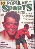 Popular Sports Magazine (1937-1951 Better Publications) Pulp Vol. 1 #2
