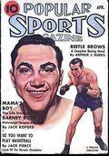 Popular Sports Magazine (1937-1951 Better Publications) Pulp Vol. 2 #3