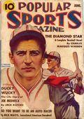 Popular Sports Magazine (1937-1951 Better Publications) Pulp Vol. 3 #1