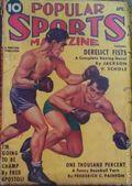 Popular Sports Magazine (1937-1951 Better Publications) Pulp Vol. 4 #2B