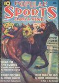 Popular Sports Magazine (1937-1951 Better Publications) Pulp Vol. 5 #1