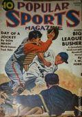 Popular Sports Magazine (1937-1951 Better Publications) Pulp Vol. 8 #1