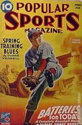 Popular Sports Magazine (1937-1951 Better Publications) Pulp Vol. 12 #1
