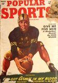 Popular Sports Magazine (1937-1951 Better Publications) Pulp Vol. 21 #1
