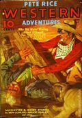 Pete Rice Magazine (1933-1936 Street & Smith) Pulp Mar 1936