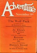 Adventure (1910-1971 Ridgway/Butterick/Popular) Pulp Nov 8 1926