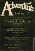 Adventure (1910-1971 Ridgway/Butterick/Popular) Pulp Jan 15 1927