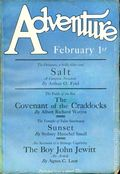 Adventure (1910-1971 Ridgway/Butterick/Popular) Pulp Feb 1 1927