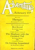 Adventure (1910-1971 Ridgway/Butterick/Popular) Pulp Feb 15 1927