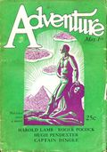 Adventure (1910-1971 Ridgway/Butterick/Popular) Pulp May 1 1927