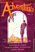 Adventure (1910-1971 Ridgway/Butterick/Popular) Pulp Jul 1 1927