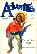 Adventure (1910-1971 Ridgway/Butterick/Popular) Pulp Feb 15 1928