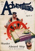 Adventure (1910-1971 Ridgway/Butterick/Popular) Pulp Apr 1 1928