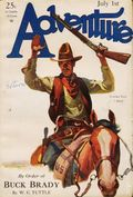Adventure (1910-1971 Ridgway/Butterick/Popular) Pulp Jul 1 1928