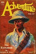 Adventure (1910-1971 Ridgway/Butterick/Popular) Pulp Jul 15 1928