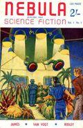 Nebula Science Fiction (1952-1959 Crownpoint) UK Edition 1