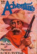 Adventure (1910-1971 Ridgway/Butterick/Popular) Pulp Jul 15 1929