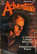 Adventure (1910-1971 Ridgway/Butterick/Popular) Pulp Nov 15 1929