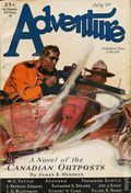 Adventure (1910-1971 Ridgway/Butterick/Popular) Pulp Jul 1 1930