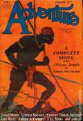 Adventure (1910-1971 Ridgway/Butterick/Popular) Pulp Jan 15 1931