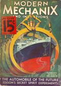 Modern Mechanic and Inventions (1932-1938) Pulp Vol. 10 #6