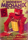 Modern Mechanic and Inventions (1932-1938) Pulp Vol. 11 #2