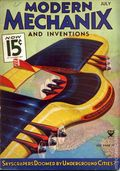 Modern Mechanic and Inventions (1932-1938) Pulp Vol. 12 #3