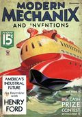 Modern Mechanic and Inventions (1932-1938) Pulp Vol. 13 #2