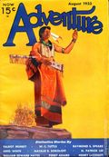 Adventure (1910-1971 Ridgway/Butterick/Popular) Pulp Aug 1933