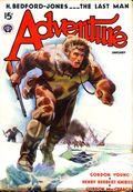 Adventure (1910-1971 Ridgway/Butterick/Popular) Pulp Jan 1938