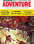 Adventure (1910-1971 Ridgway/Butterick/Popular) Pulp Oct 1956