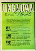 Unknown Worlds (1941-1943 Street and Smith) Pulp Feb 1942