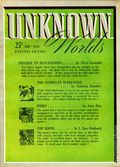 Unknown Worlds (1941-1943 Street and Smith) Pulp Apr 1942