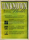 Unknown Worlds (1941-1943 Street and Smith) Pulp Aug 1942