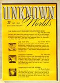 Unknown Worlds (1941-1943 Street and Smith) Pulp Oct 1942