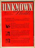Unknown Worlds (1941-1943 Street and Smith) Pulp Dec 1942