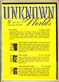 Unknown Worlds (1941-1943 Street and Smith) Pulp Feb 1943