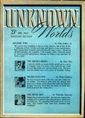 Unknown Worlds (1941-1943 Street and Smith) Pulp Apr 1943