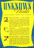 Unknown Worlds (1941-1943 Street and Smith) Pulp Aug 1943