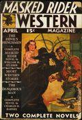 Masked Rider Western (1934-1953 Ranger/Standard) Pulp Vol. 3 #1