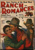Ranch Romances (1924-1968 Clayton/Warner/Best Books/Literary Enterprises/Popular) Pulp Vol. 101 #1